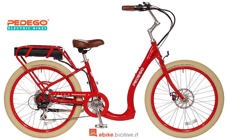 bicicletta a pedalata assistita Pedego Boomerang 2018