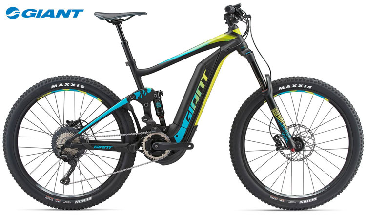 Una mountain bike elettrica Giant FULL-E+ 1 SX PRO del 2018
