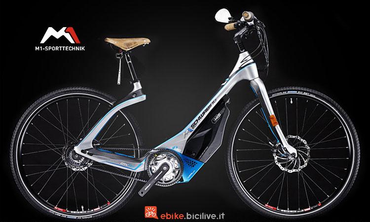 city bike elettrica M1 Sport Technik Schwabikng 2018