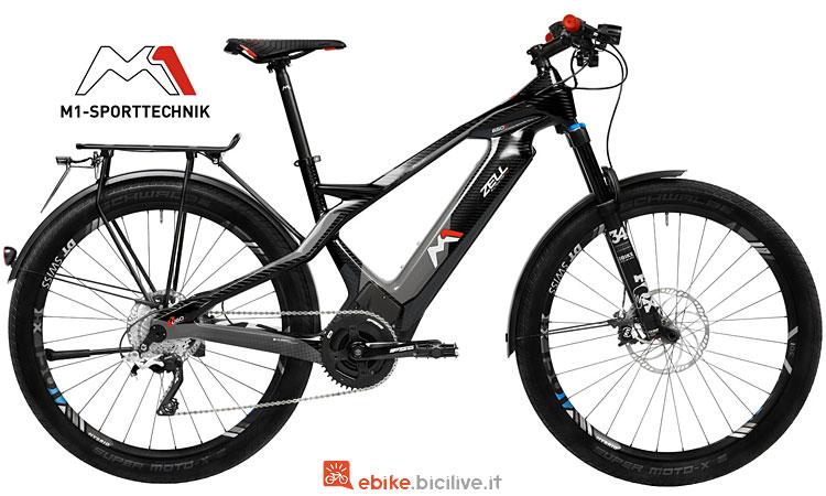 mtb elettrica per il bikepacking M1 Sport technik