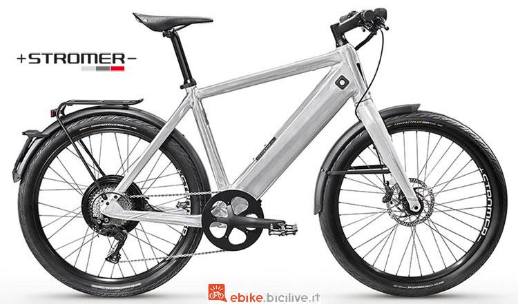Una speed bike elettrica Stromer ST2 LTD del 2018