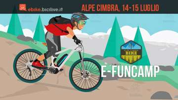 rider all'e-fun camp all'Alpe Cimbra