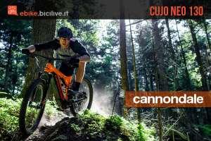 Mtb elettrica Cannondale Cujo Neo 130 catalogo 2019
