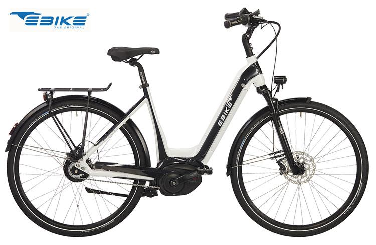 Una bicicletta a pedalata assistita C002 Monaco di Ebike Das Original