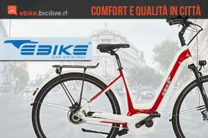Bici elettriche da città Ebike Das Original Miami e Monaco 2018