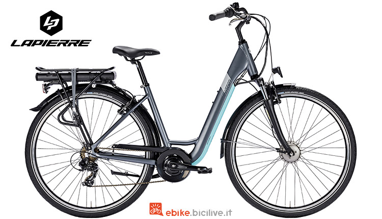 city bike elettrica Lapierre 2018