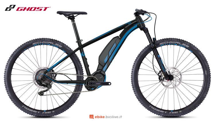 Una mountain bike a pedalata assistita Hybride Kato S3.9 AL