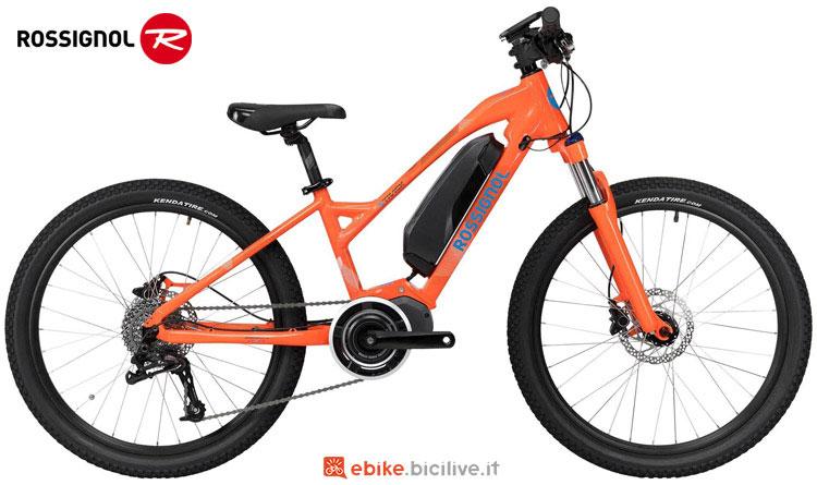 Una bici elettrica per bambini Rossignol E-TRACK 24