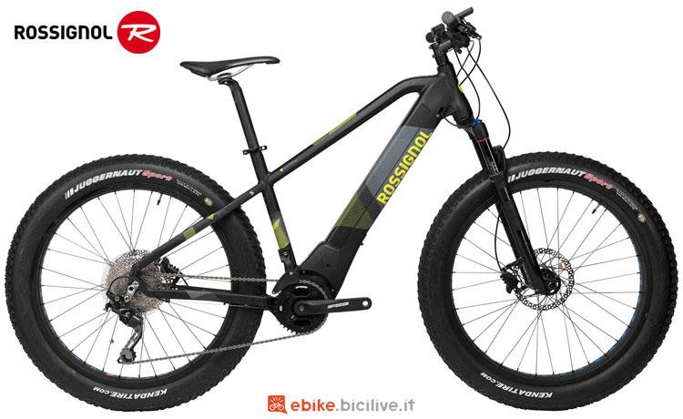 Una fat bike a pedalata assistita Rossignol E TRACK FAT del catalogo 2018