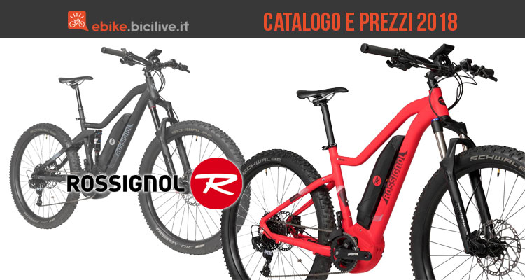 Bici elettriche Rossignol: catalogo e listino prezzi 2018