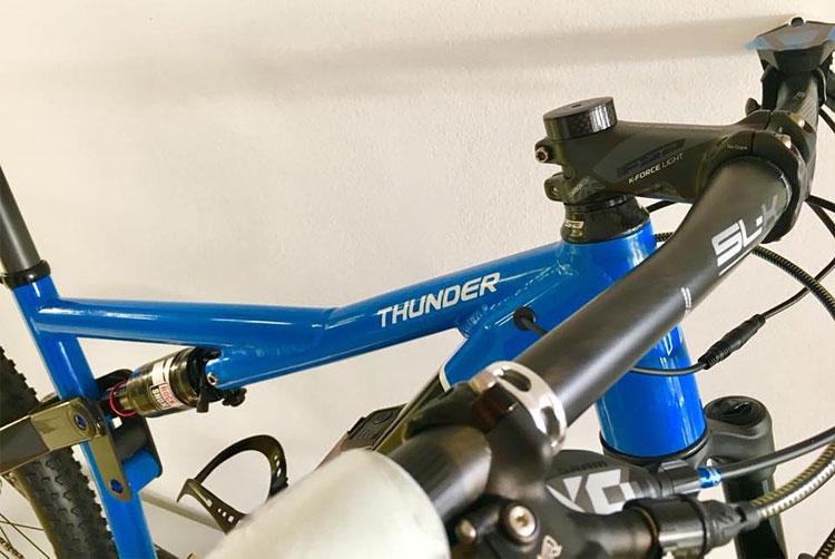 telaio in alluminio della emtb FM-Bike Thunder