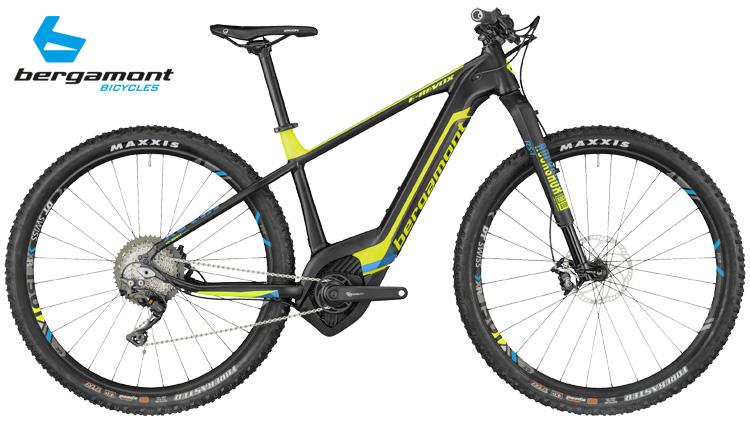 Una mountain bike elettrica hardtail da XC BergamontE-Revox Ultra