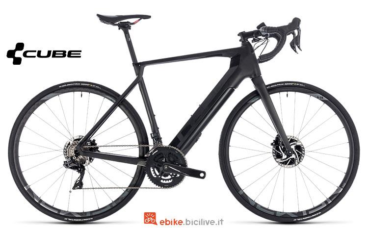 bici da corsa elettrica Cube Agree 2018