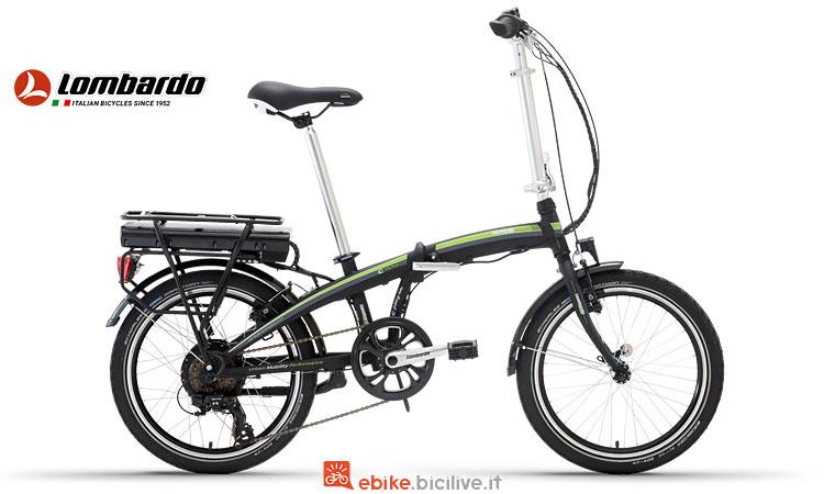 bicicletta elettrica pieghevole Lombardo e-Ischia
