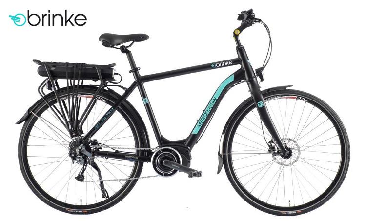 Una bici a edatala assistita Metropolitan Brinke con sella Selleroyal Freccia