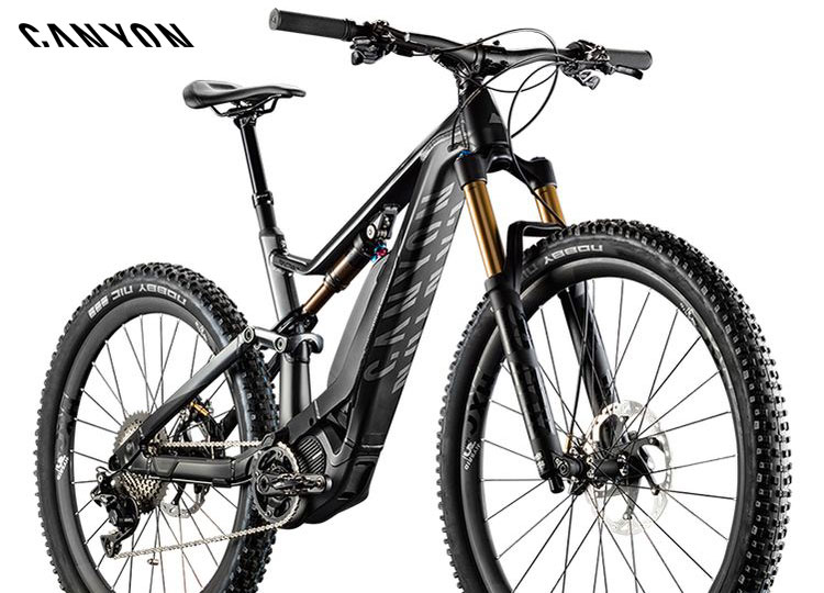 Una mtb a pedalata assistita Spectral:ON del catalogo Canyon 2018