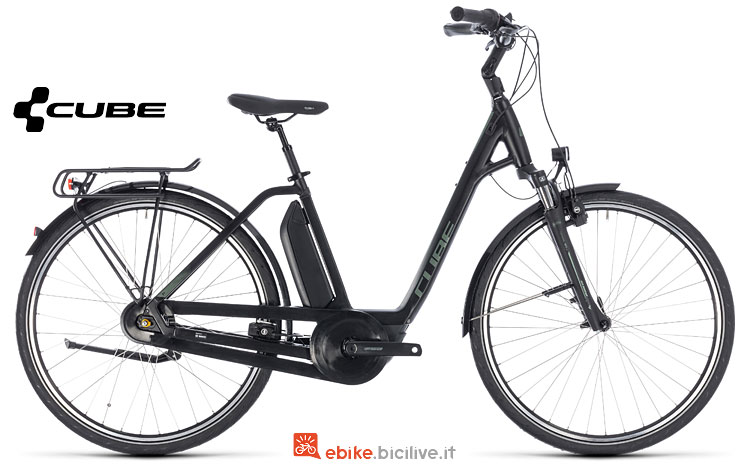 city bike elettrica Cube 2018