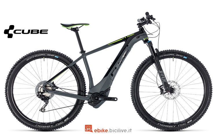 MTB Hardtail elettrica Cube Reaction 2018