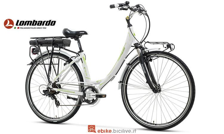 bici elettrica da città Lombardo