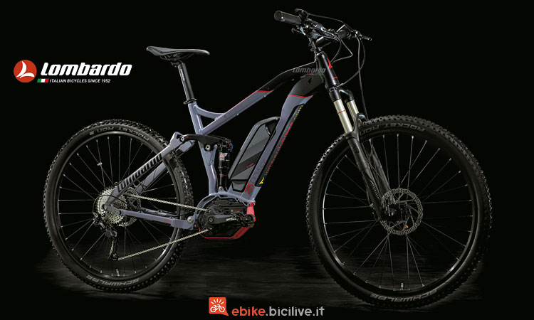 Lombardo e-Sempione con batteria semi integrata Bosch