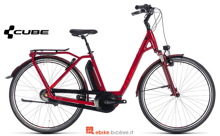 city ebike Cube Town Hybrid