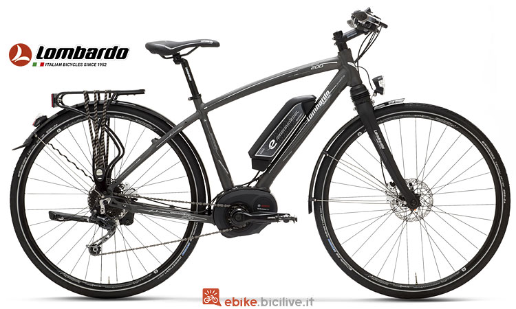 bici elettrica Lombardo dal catalogo 2018