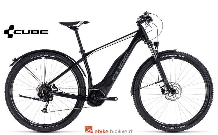 mountain bike elettrica entry level Cube