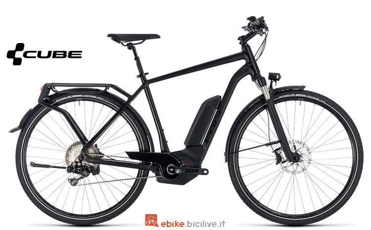 bici elettrica da viaggio Cube 2018
