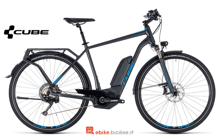 ebike da cicloturismo Cube 2018