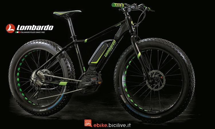 fat bike elettrica Lombardo E-Ivrea