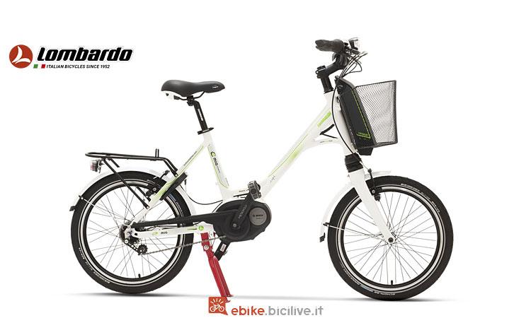 bici elettrica con ruote da 20 pollici