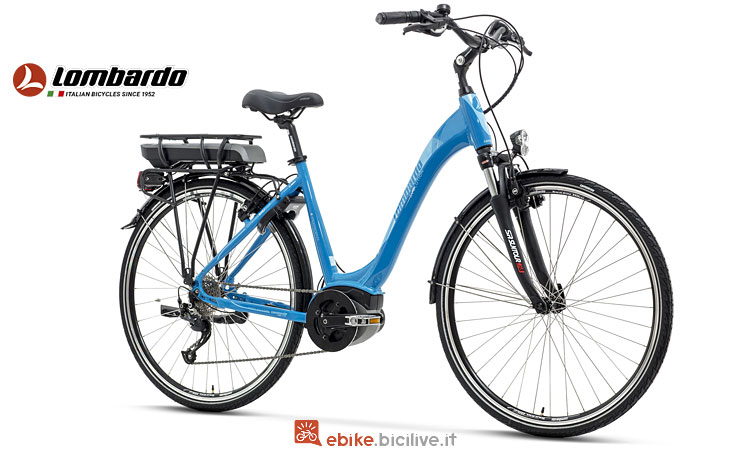 ebike Lombardo con walking assistance