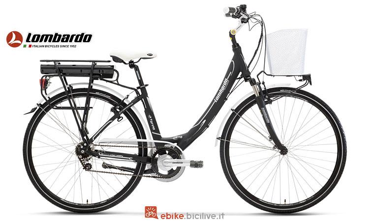 bici elettrica Lombardo con cambio Nexus