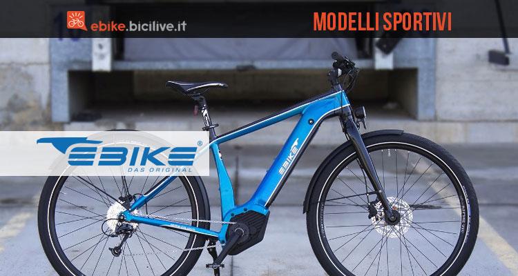 Bici elettriche sportive Ebike Das Original