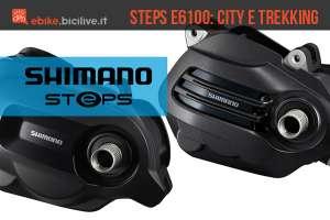 Motore per ebike Shimano STEPS E6100