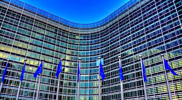 Il palazzo della Commissione Europea