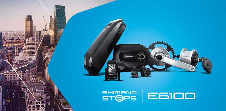Immagine promozionale Shimano STEPS E6100 con cambio Nexus Inter-5 2018