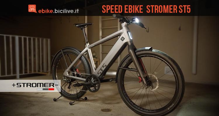 speed ebike Stromer ST5 distribuita da Brinke