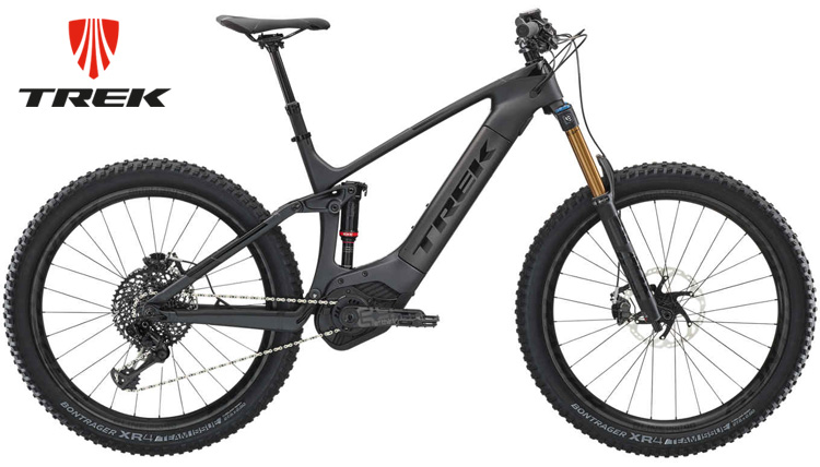 Una eMTB full suspended Trek Powerfly LT 9.9 Plus