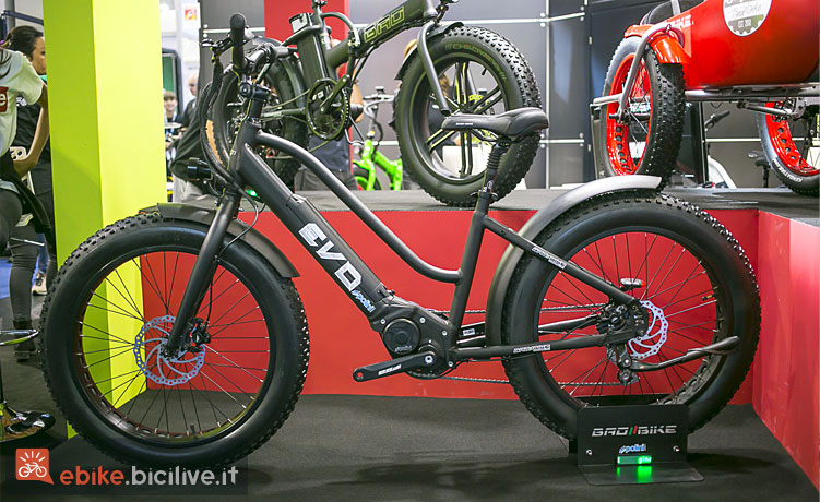 fat bike elettrica Bad Bike Evo