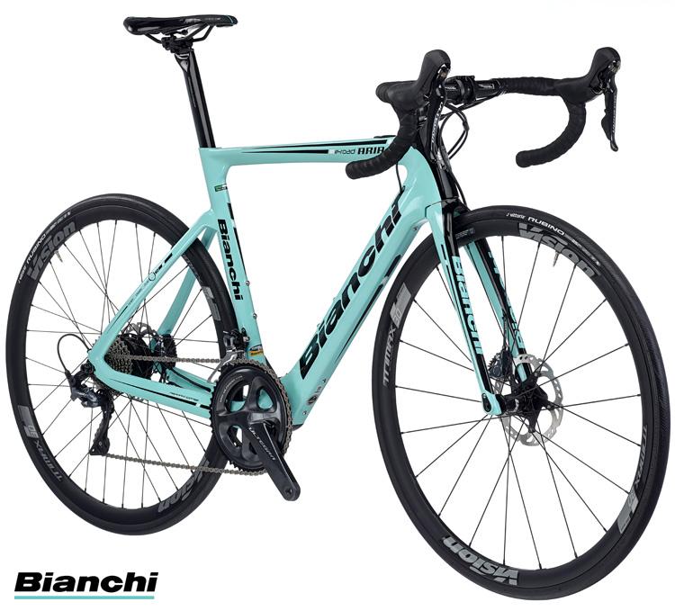 La bici da corsa a pedalata assistita Bianchi Aria e-Road 2019