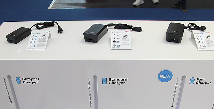 Caricatori Bosch Compact, Standard e Fast Charger