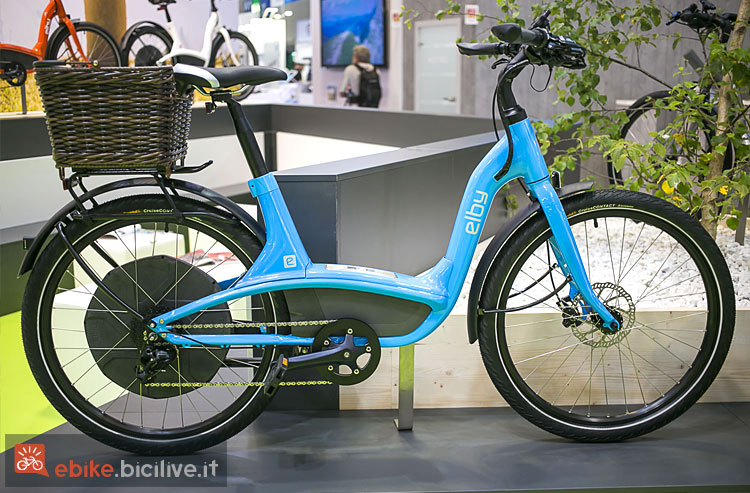 city bike elettrica Elby