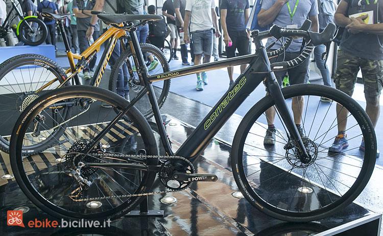 bici da corsa elettrica Corratec E-Allroad 2019