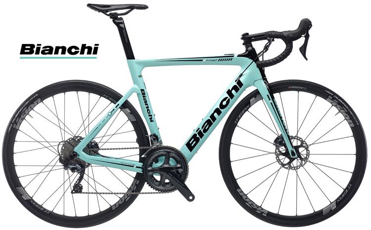 La bicicletta da corsa a pedalalata assistita Bianchi Aria e-Road 2019 con telaio aero in carbonio