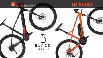 eMTB Black Bird RS-E1 e RS-E3 EVO 2018
