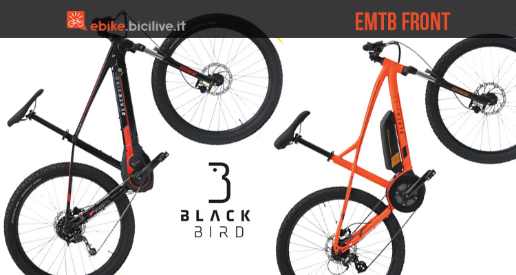 eMTB Black Bird RS-E1 e RS-E3 EVO 2018