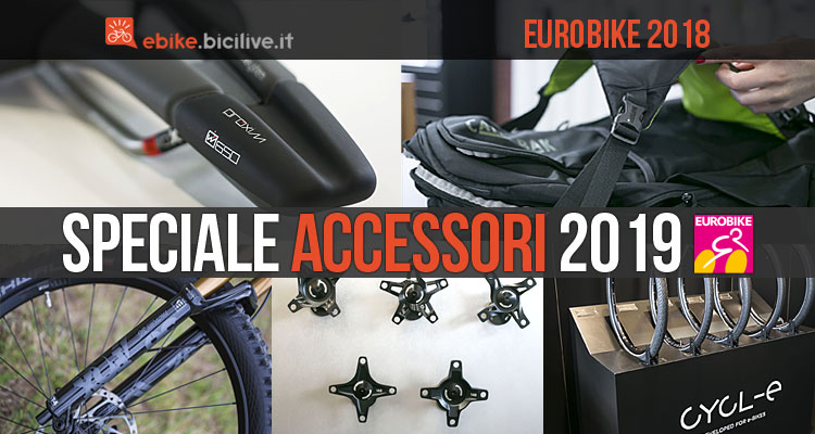 accessori per ebike visti ad Eurobike