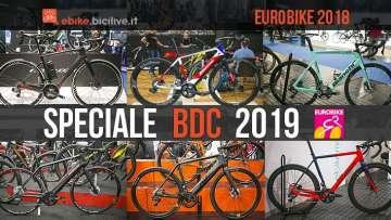 biciclette da corsa elettriche viste a Eurobike