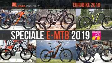 foto di sei emtb viste ad eurobike 2018